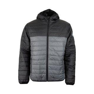 Jacke - schwarz/grau