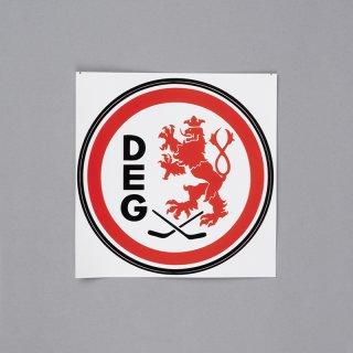 Aufkleber Logo farbig - 10 cm