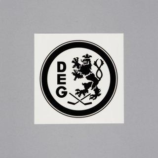 Aufkleber Logo outline - schwarz