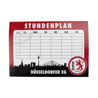 "Stundenplan ""Düsseldorfer EG"""